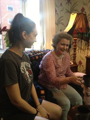 Elever på Studio Meisners skådespelarutbildning i Meisnerteknik